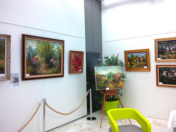 exposition à la mairie