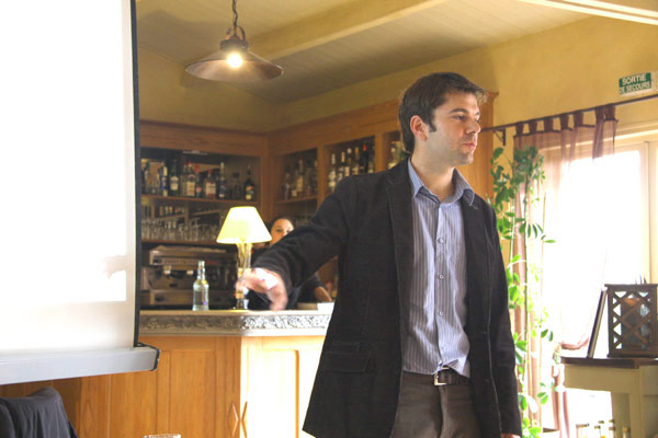 Alexandre Devy réalise une conférence sur le marais vendéen