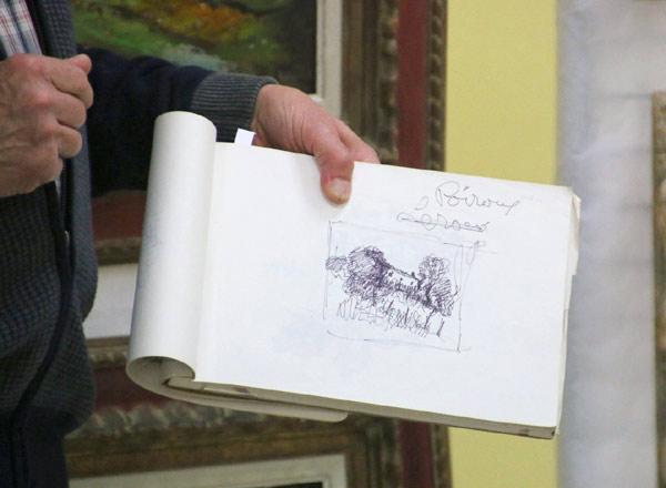 Célèbre peintre