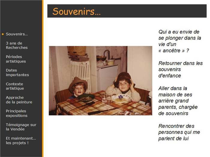 Souvenirs sur le peintre vendéen Nauleau
