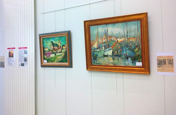 le célèbre peintre yonnais dans sa ville natale