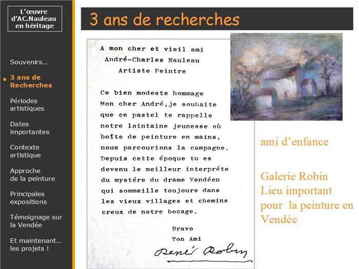 Galerie René Robin à La Roche sur Yon