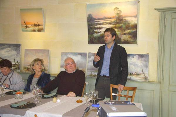 Conférence sur le marais breton vendéen