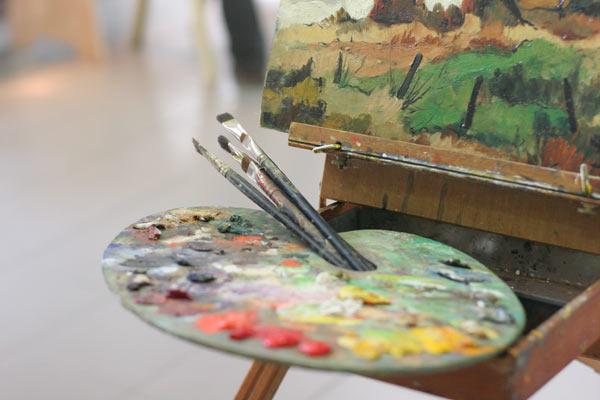 palette impressionniste