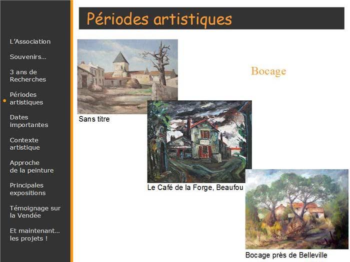 Tableaux du peintre vendéen connu
