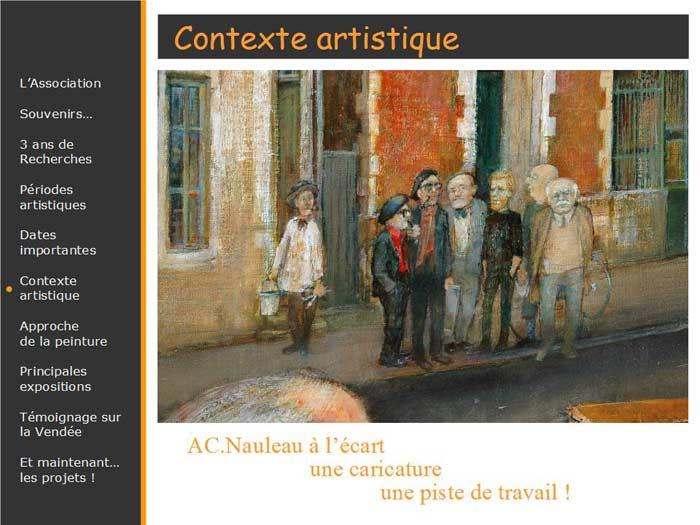 L'impossible Possible, tableau avec les peintres de l'époque