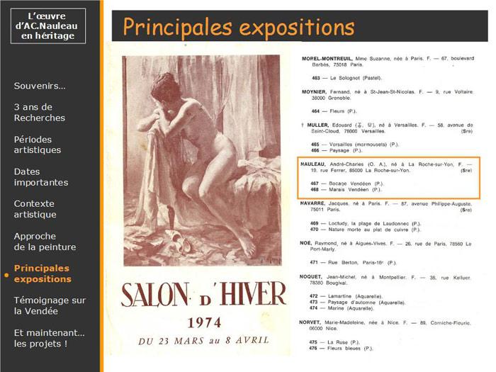 Salon d'Hiver à Paris