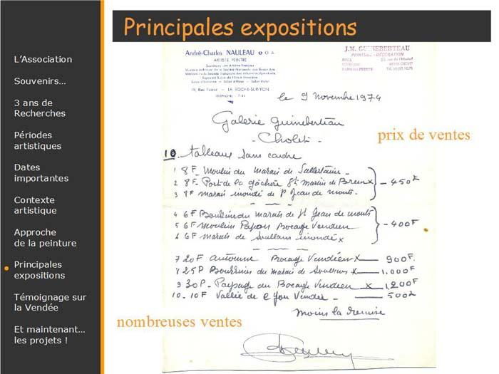 prix de ses oeuvres en vente à la galerie Guineberteau