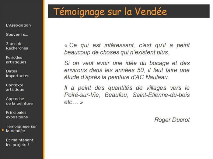 Citation de Roger Ducrot