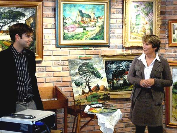 conférence sur le peintre connu