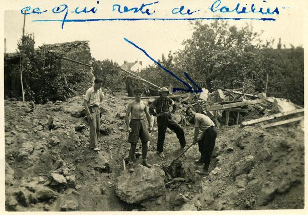 bombardement de la seconde guerre mondiale à la roche sur yon