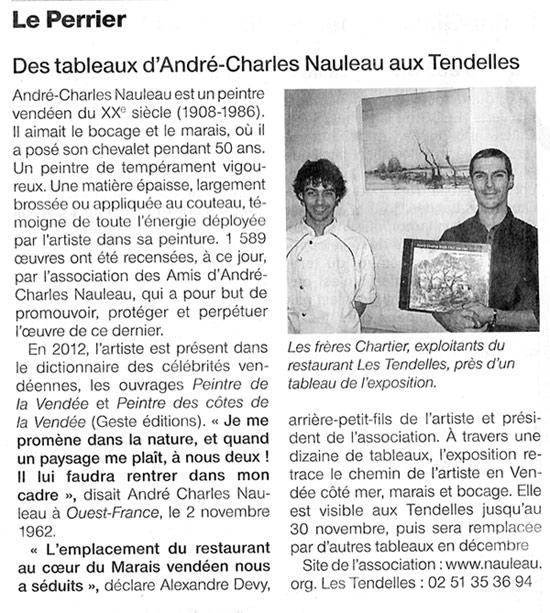 exposition au perrier pour Nauleau