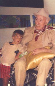 Alexandre Devy et son arrière grand père le célèbre peintre