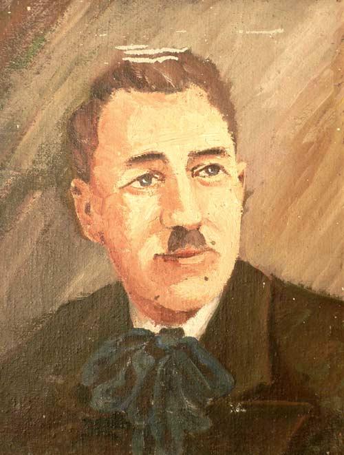 Autoportrait du peintre Nauleau