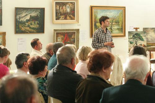 actualités de l'association conférence sur le peintre