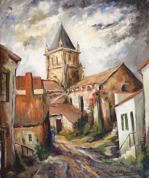 Eglise de Longeville sur Mer