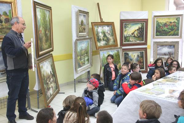 Vairé exposition expliquée aux enfants analyse de tableaux