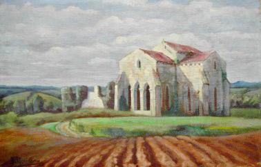 abbaye des fontenelles don de tableau