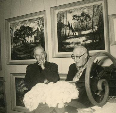 photo prise lors du vernissage de l'exposition