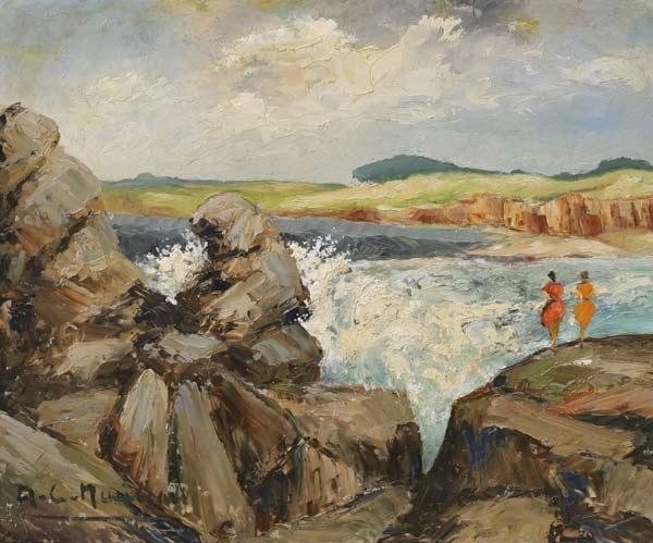 Le Puy d'enfer sur le littoral vendéen