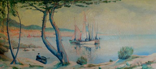 les bateaux de la cote sauvage de Noirmoutier