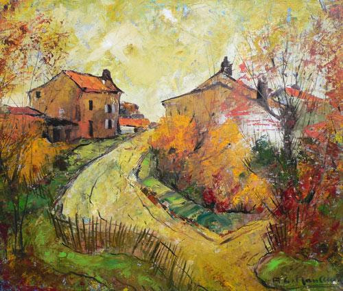 paysage d'automne en vendée