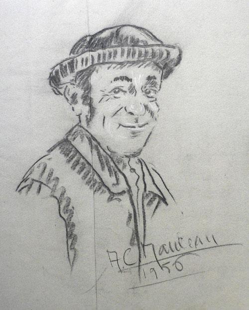 Portrait de maraichin