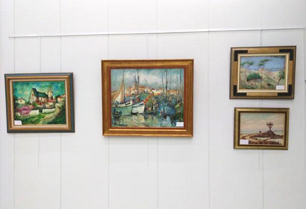 tableaux exposés à La Roche sur Yon en 2016
