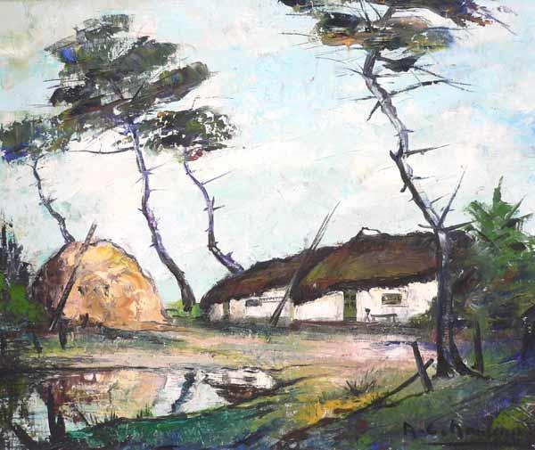 oeuvre du peintre Nauleau